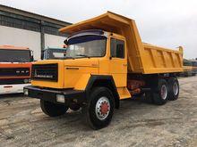 1984 MAGIRUS 232D26 dump truck