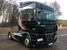 2012 DAF XF105 tractor unit