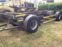 1995 BNG container chassis trai