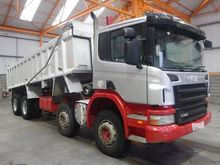 2009 SCANIA P340 dump truck