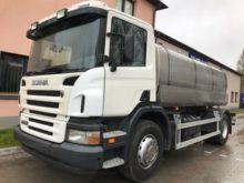 2005 SCANIA P230 milk tanker
