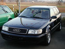 1993 AUDI 100 for parts. Darbo