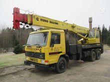 1989 VOLVO FL7, crane mobile cr
