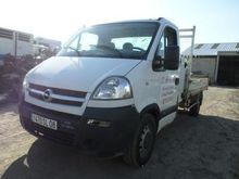 2005 OPEL Movano dump truck