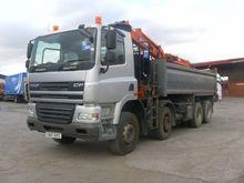 2007 DAF CF85.340 dump truck by