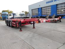 2004 BROSHUIS Chassis container