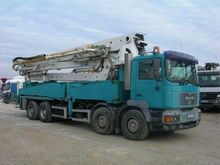 1997 MAN 41.403 concrete pump
