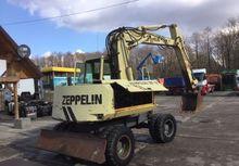 1992 ZEPPELIN ZM 12 wheel excav
