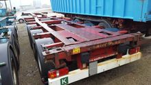2007 KRONE Sdc27 container chas