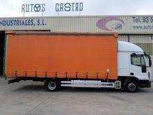 2012 IVECO 100E22 truck curtain