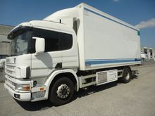 1999 SCANIA closed box truck