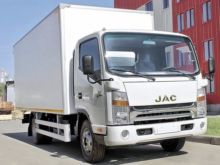 2017 JAC N75 closed box truck