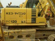 2008 KOMATSU pc120-6 tracked ex