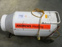 ANDREWS 110V GAS SPACE HEATER i