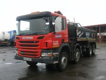 SCANIA P360 dump truck by aucti