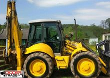 2007 HOLLAND B115-4P backhoe lo
