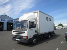 1993 DAF LF45 120 closed box tr