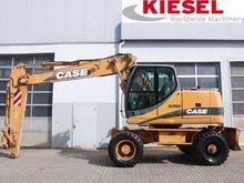 2005 CASE WX165 wheel excavator