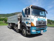 2007 HINO 3241 dump truck