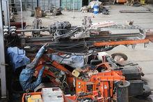 TES CAR CF-2,5 drilling rig