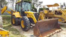 1998 FERMEC 960 backhoe loader