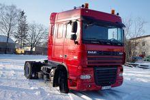 2007 DAF XF 105 410 tractor uni