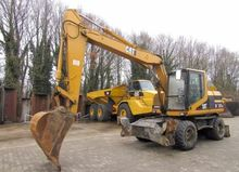 1997 CATERPILLAR wheel excavato