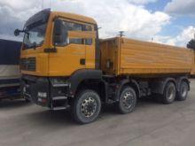 2008 MAN 35.400 8x6 dump truck