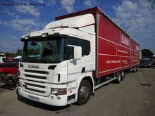 2008 SCANIA P380 tilt truck + t