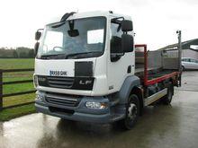 2009 DAF LF55.220 flatbed truck