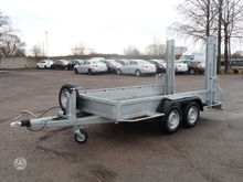 2016 WEBER ST3500A, trailer and