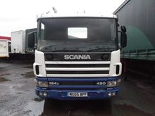 2005 SCANIA P124.420 chassis tr