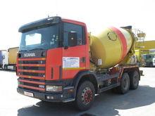 2002 SCANIA R94 concrete mixer