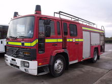 1990 VOLVO FL6.14 fire tanker t