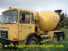 Used MAN 26240 mixer