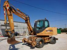 2009 CASE WX95 rail excavator