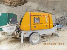 2015 PUTZMEISTER concrete pump