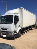 2002 RENAULT 220 closed box tru