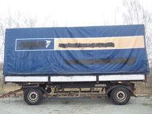 2001 KÖGEL Kuzov tilt trailer
