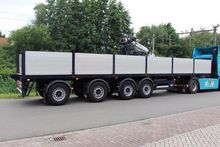 2007 flatbed semi-trailer