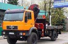 2004 MAN 18.264 flatbed truck