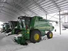 2012 JOHN DEERE W650 combine-ha