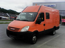 2008 IVECO DAILY 2.3HPI closed
