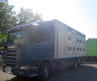 2003 SCANIA 164G, livestock tru