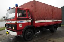 1985 DAF 1300 fire truck