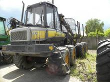 2007 PONSSE Wisent forwarder