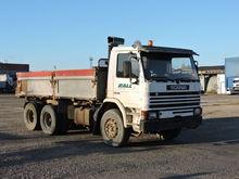 1986 SCANIA 92 dump truck