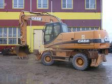 2006 CASE Wx 210, excavator whe