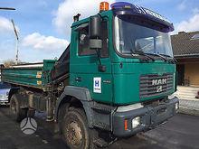 2000 MAN 19.414 dump truck