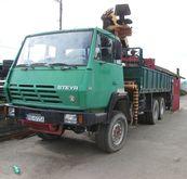 1985 STEYR 1491 flatbed truck